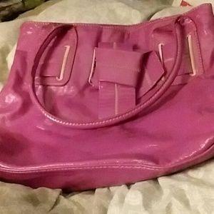 NWOT Tommy Hilfiger pink hand bag large